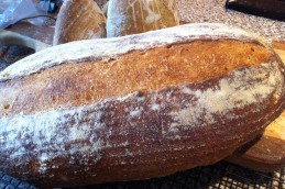 "Recipe from ""Local Breads.""  Better oven spring here."