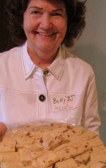 Betty made lefse